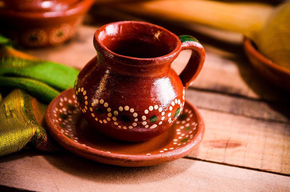 Taza de café mexicano