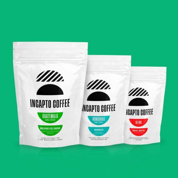 Pack Degustación café en grano Centroamerica