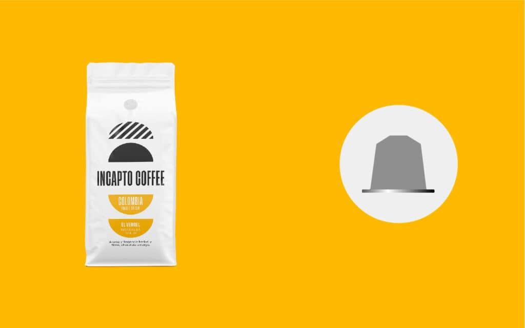 Equilavencia cápsulas café de Colombia