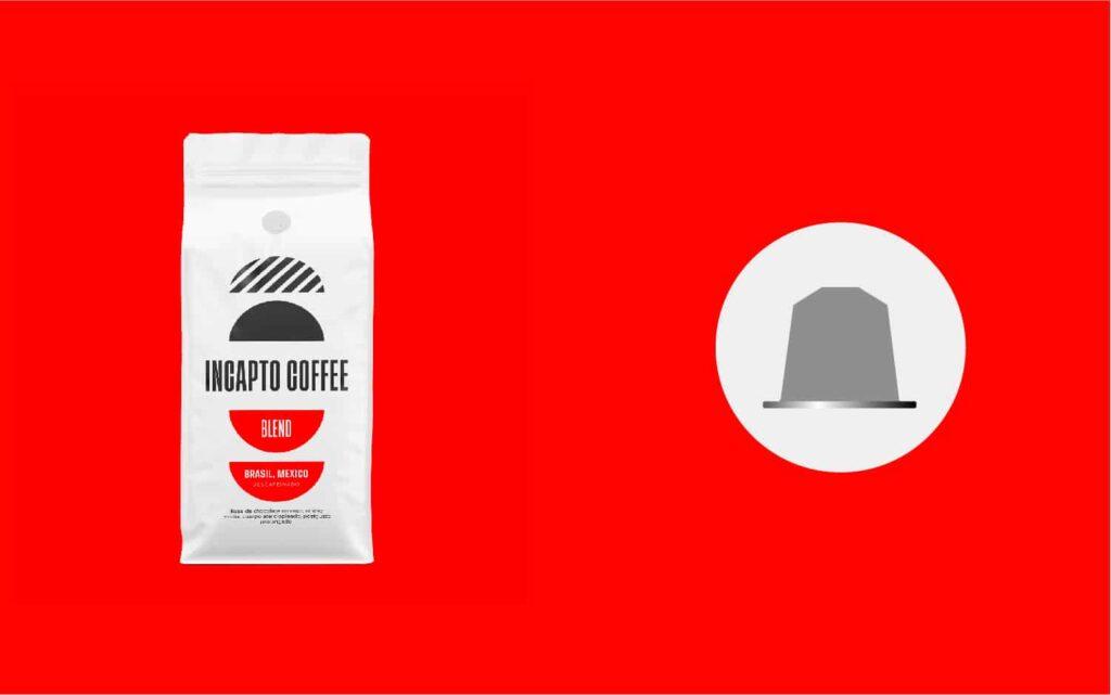 Equilavencia cápsulas café Descafeinado