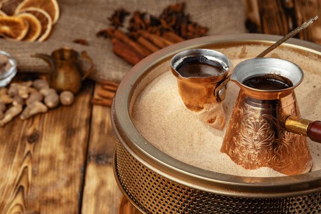 Café turco-Preparación